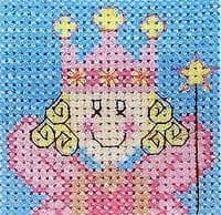 Anchor Starters Counted Cross Stitch Kit - AK23 Fancy Fairy